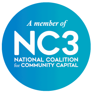 National Coalition for Community Capital, member, membership, member badge, NC3, Crowdfund Better, Kathleen Minogue