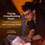 Gerry Maravilla, crowdfunding while latino, latino crowdfunding, Latinx crowdfunding campaign, Cross, financiación colectiva para latinos, successful latino crowdfunding campaign, Seed&Spark, filmmaker, exitosa campaña de financiación colectiva latina