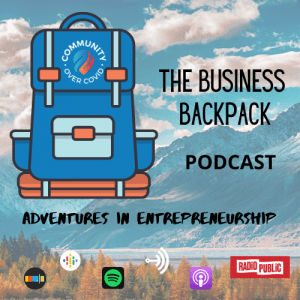 The Business Backpack Podcast, Megan Bryant, Kathleen Minogue, crowdfunding, Crowdfund Better